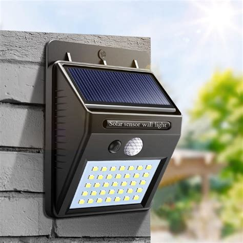 night light solar powered led wall motion