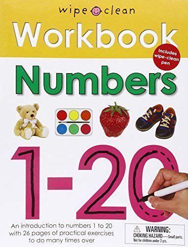 wipe clean workbook numbers 1 20 free math