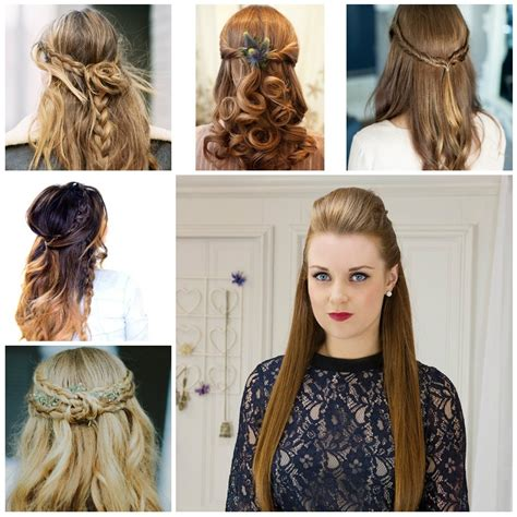 15 inspirations easy wedding hairstyles long straight hair