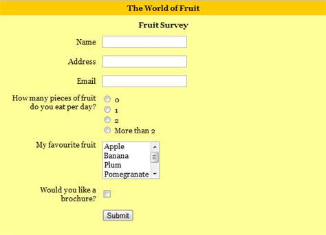 create html web forms website 10 seoclerks