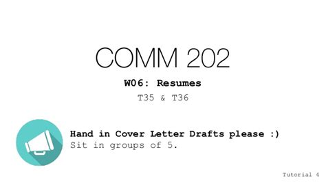 w06 cover letter peer review resume