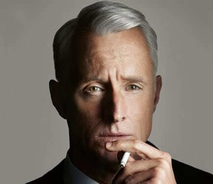 roger sterling hairstyle cool men hair