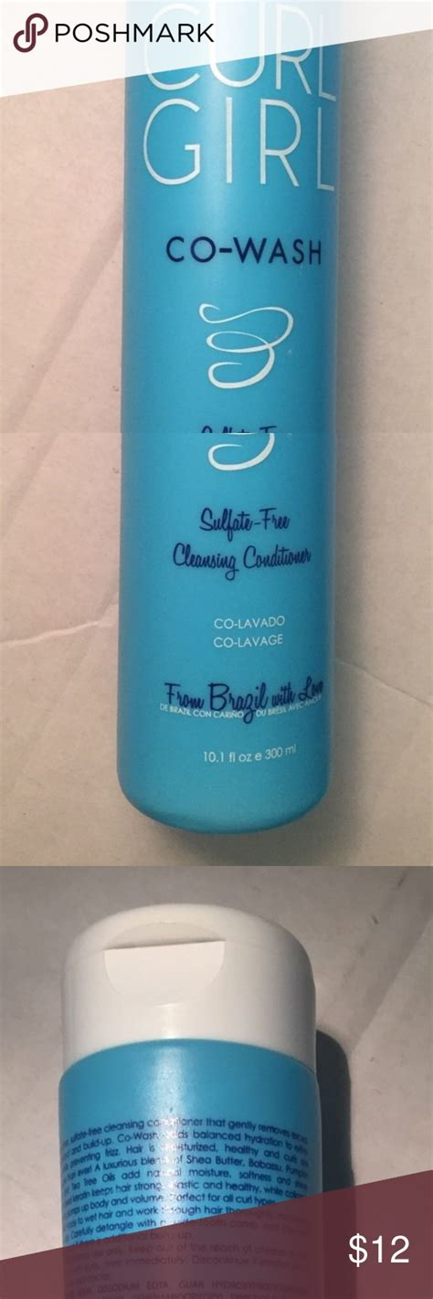 curl girl wash sulfate free cleansing condition nwot