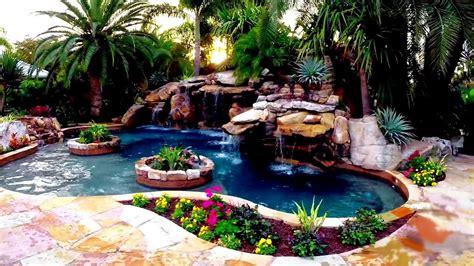 ultimate backyard water garden youtube