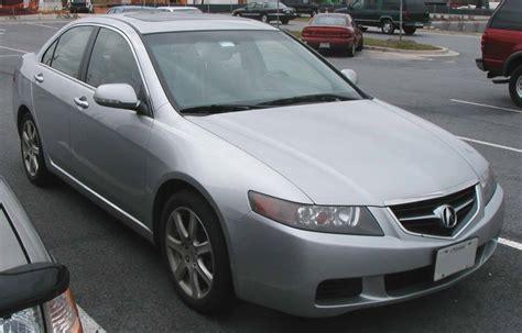2004 acura tsx base sedan 2 4l manual