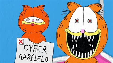 cyber garfield monster factory animated youtube