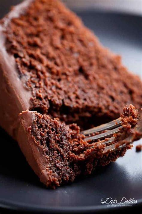 fudgy chocolate cake cafe delites chocolate cake chocolate