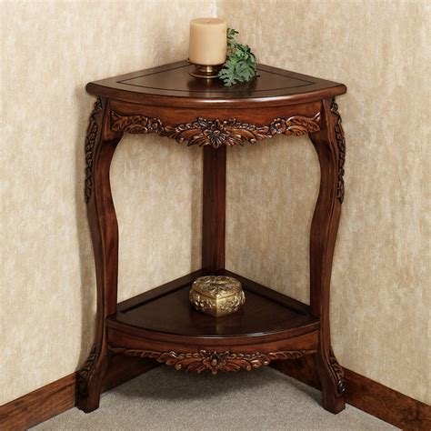 victoriana corner pedestal tablenatural cherry corner table designs