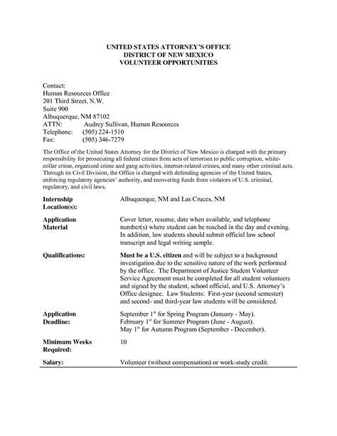 volunteer work resumevolunteer work resume application letter sle