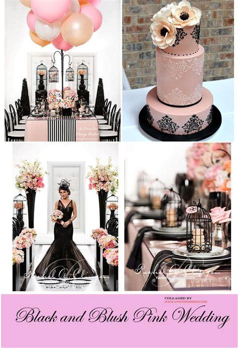 black pink wedding color palette wedding ideas pinterest