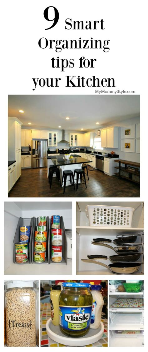 9 smart ways organize kitchen mommy style