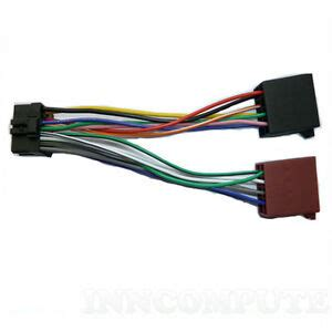 pioneer stereo loom 16 pin iso lead wiring