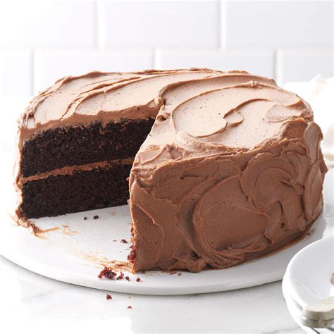 chocolate cake chocolate frosting recipe taste home