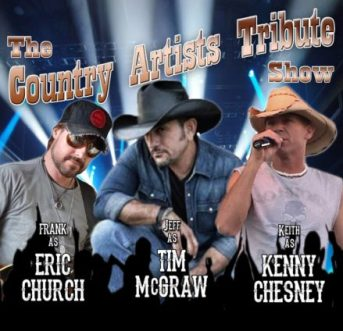 country music tribute artist booking