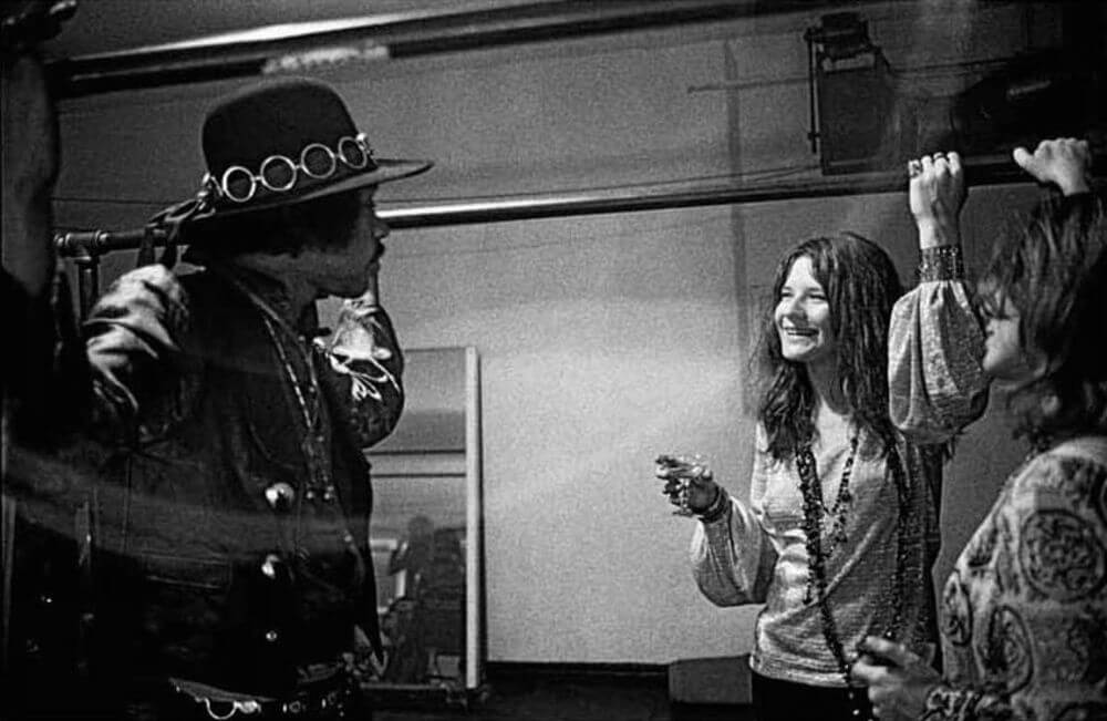 Janis Joplin, Jimi Hendrix