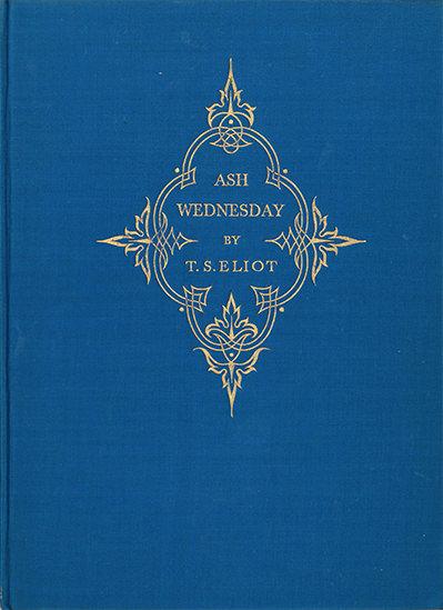 ash wednesday eliot # 4