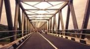 Minggu pagi di Jembatan Jalan Paris