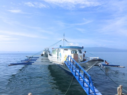 Boat from Talaga Port to Tingloy