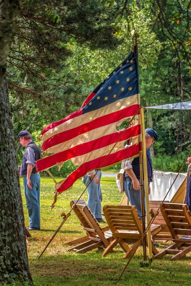 Eckley-Civil-War-Flag