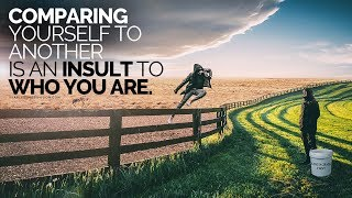 Evaluating Yourself to But every other is an INSULT to WHO YOU ARE!