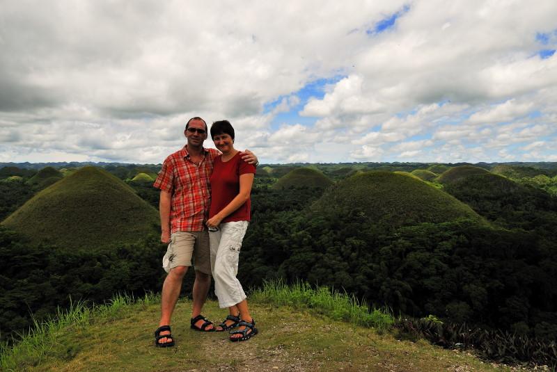 Reisebericht Tauchen Bohol Philippinen 2010, Chocolate Hills