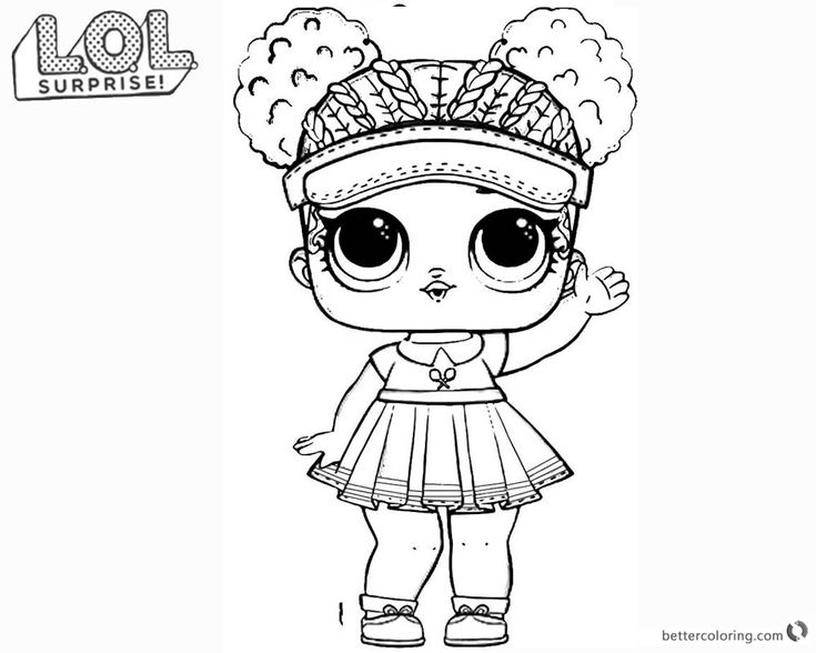 Lol Doll Coloring Pages With Color Tsgos Com