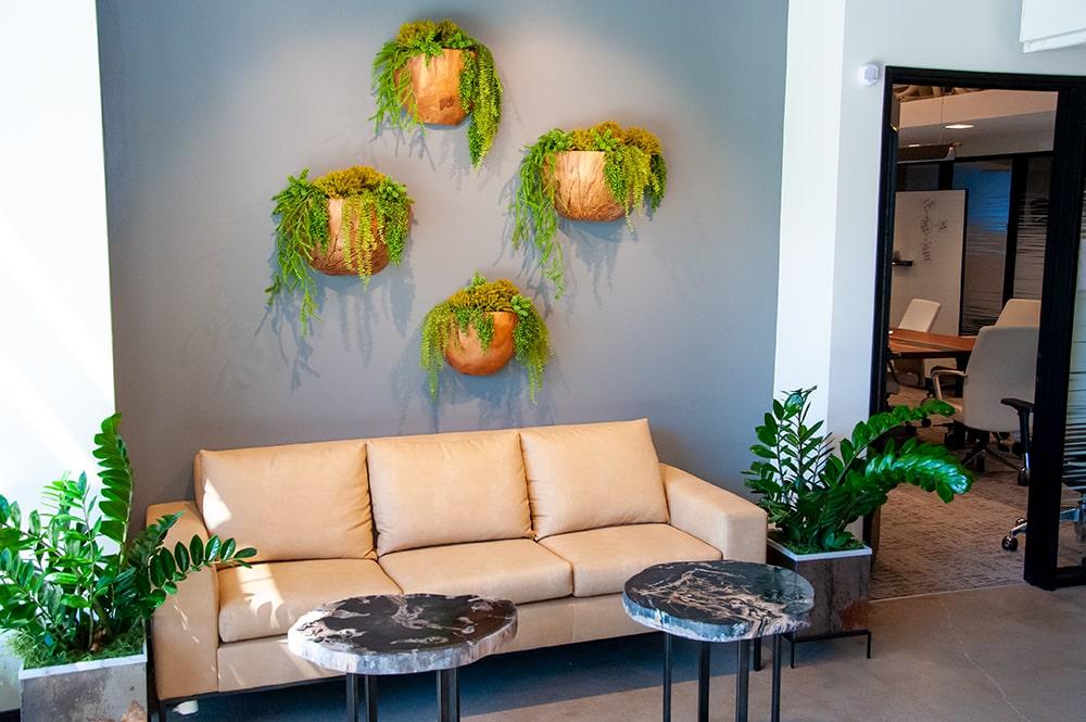 TSG Wealth Management Newport Beach Couch