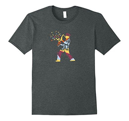 JazzWorldQuest-Playful Jazz Saxophone Musician T-shirt