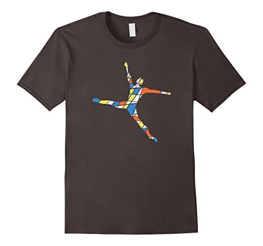 Playful colorful Dancer T-shirt