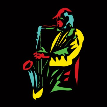 Funny Saxophone Musician Modern Style Classic T-Shirt