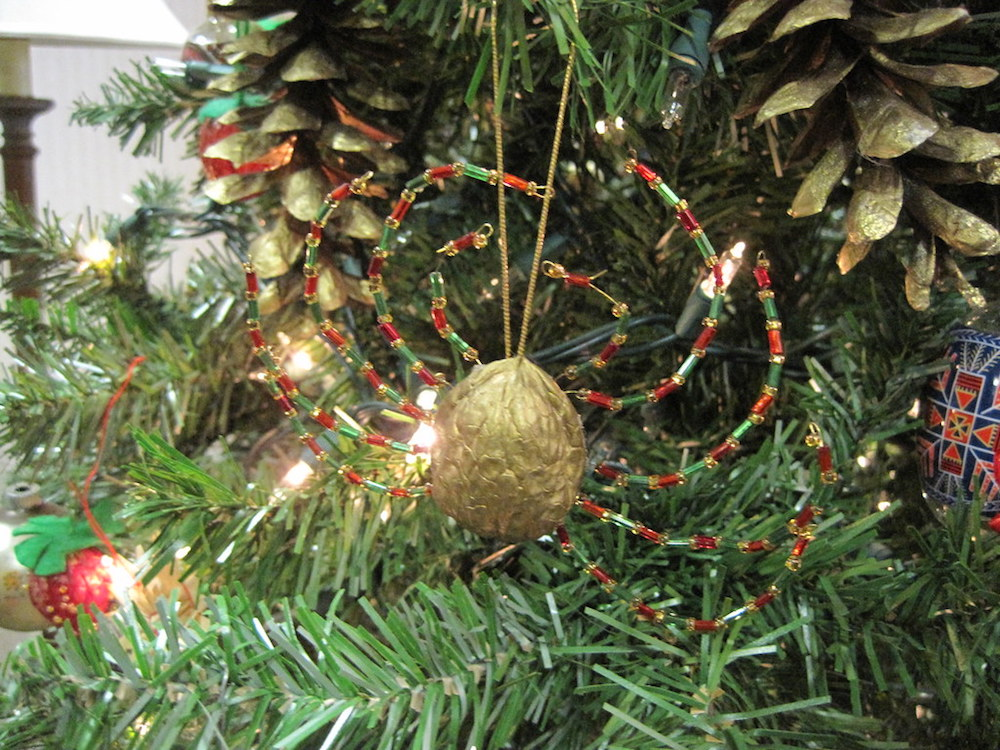 Christmas Traditions In Ukraine- It's normal to decorate Christmas trees with spiders