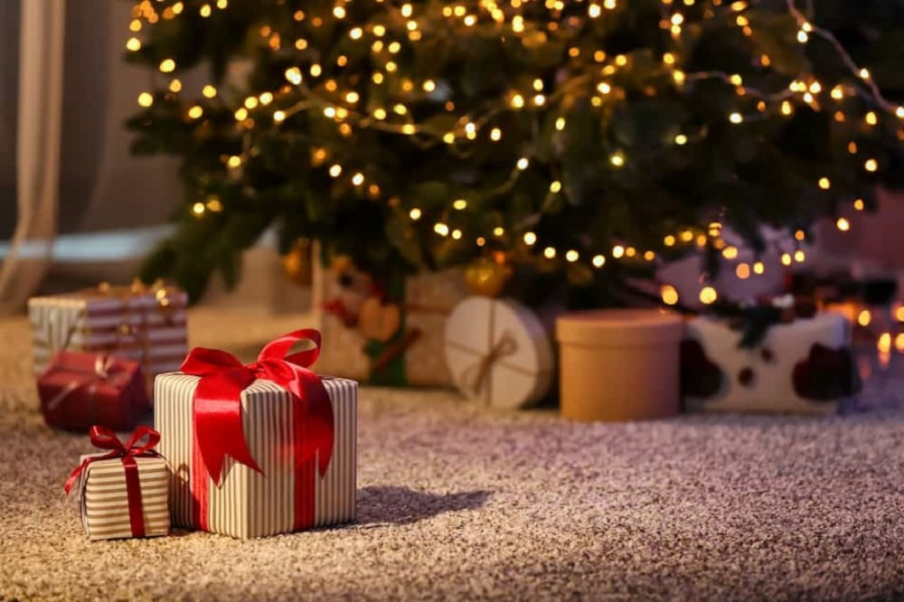 Holiday spirit with traditions on Christmas