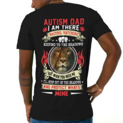 Autism-Dad-Shirt-Lion-Blue-Eye-I'm-There-Watching-Keeping-To-The-Shadows-Video-Mockup