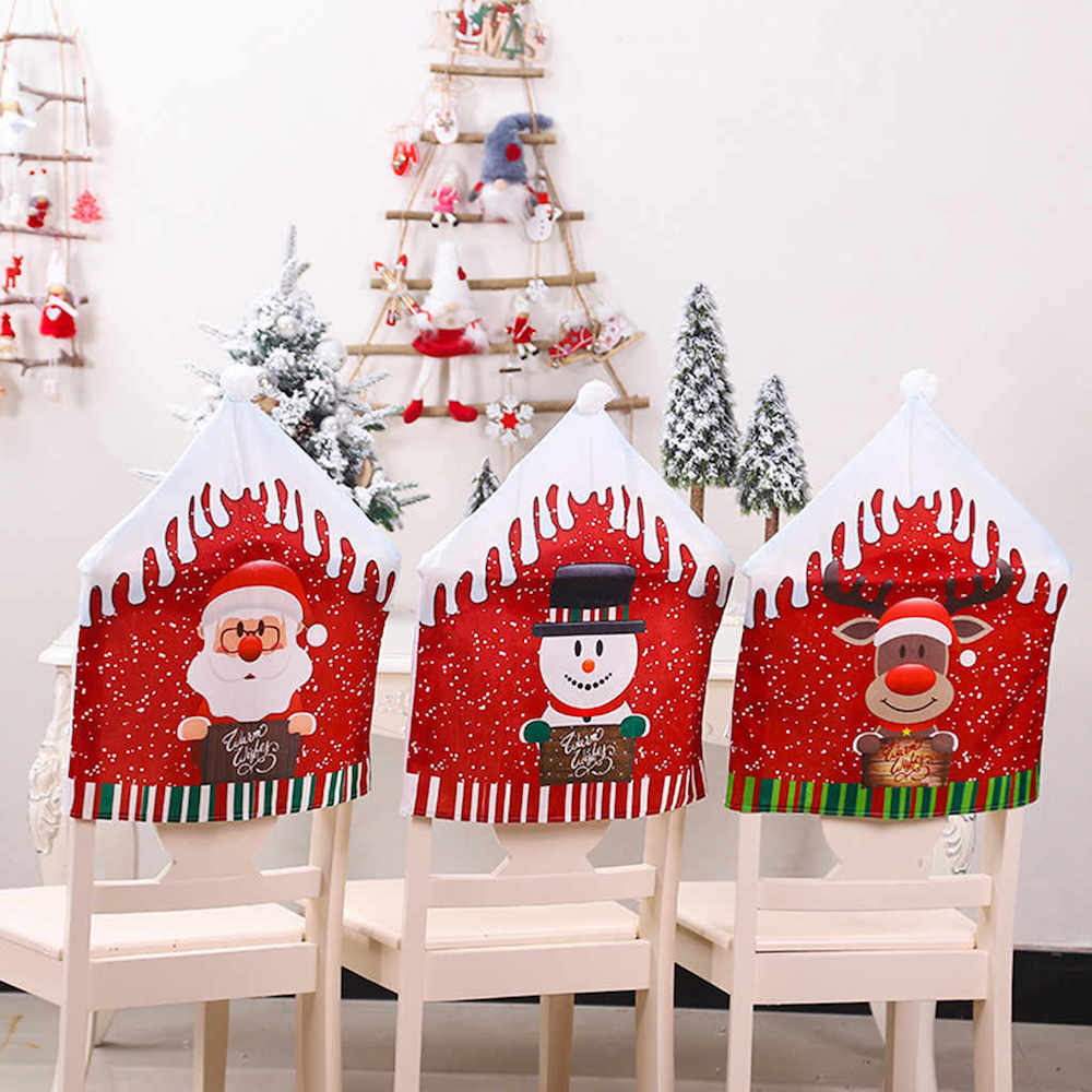 Decorating your chair is one of the great Christmas table settings