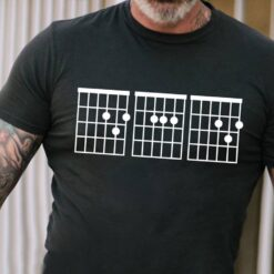 Guitar Chord Dad Shirt