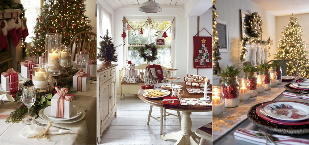 Deck your room out with fantastic Christmas room decoration ideas