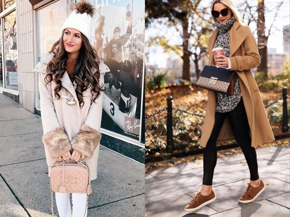 Looking for cozy but chic Christmas outfits? Coats are suitable for you.