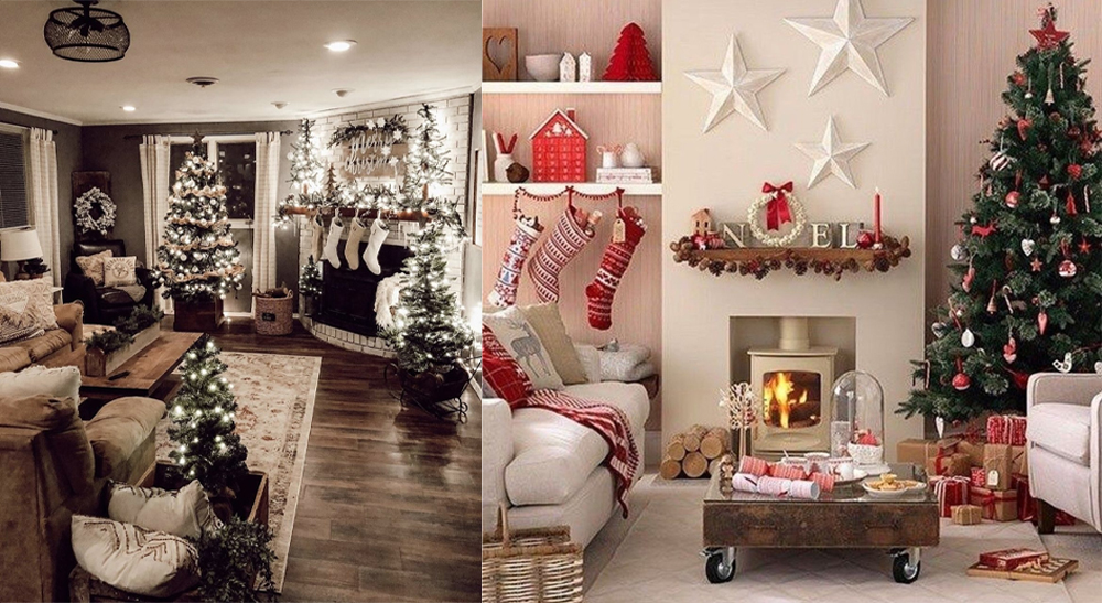 Christmas room decoration ideas for the living room are so creative and adorable