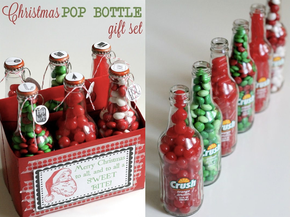 When it comes to cute DIY Christmas gifts, don't miss Pop Bottles Gift Set