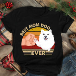 Vintage Best Mom Ever Shirt Best American Eskimo Dog Mom Ever