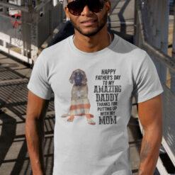 English Mastiff Shirt Happy Father's Day My Amazing Daddy