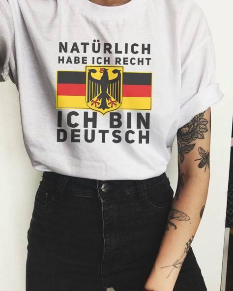 German Shirt Naturlich Habe Ich Recht Ich Bin Deutsch