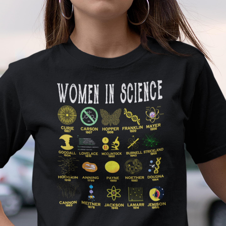 Scientist Shirt Women In Science