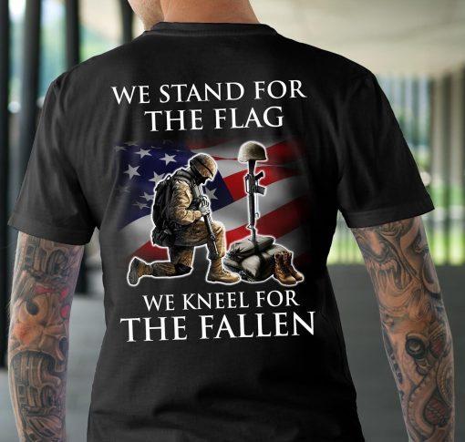 Veteran-Shirt-We-Stand-For-The-Flag-American-Helmet-Bumper-Veteran-Dad-Shirt