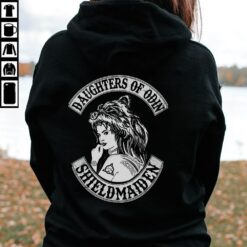 Norse Shirt Daughters Of Odin Shieldmaiden