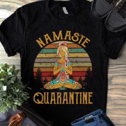 Vintage Namaste Shirt Namaste Quarantine Yoga
