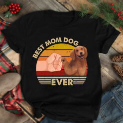 Best Mom Ever Shirt Vintage Best Golden Dog Mom Ever