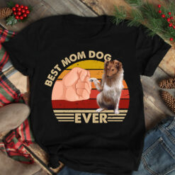 Best Mom Ever Shirt Vintage Best Gollie Dog Mom Ever
