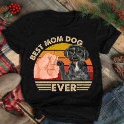 Best Mom Ever Shirt Vintage Best Mastador Dog Mom Ever