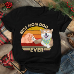 Best Mom Ever Shirt Vintage Best Shiba Mom Ever